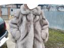 Haina blana,vulpe argintie, adusă din Italia