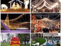 Iluminat festiv, decoratiuni exterior sicap seap primarii