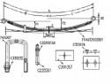 Foi suplimentare pentru Arc 1 foaie opel movani-renault mast