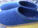 Papuci Halinger, mari. 47 (30 cm)