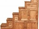 Mobila din lemn masiv - Bufet tip scara 16115A (SX)
