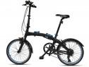 Bicicleta Pliabila Oe Bmw Negru / Albastru 80912447964