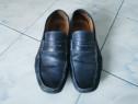 Pantofi bărbătești din piele