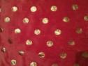 Pătură / Cuvertură - NOUA - Roșie - cu Etichetă