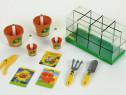 Set de seră pentru copii cu semințe reale de la Klein