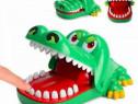 Nou jucarie crocodil muscator cu dinti funny , crocodil verd
