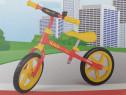 """Bicicleta echilibru, fara pedale, roti spuma 12"""", noua"""