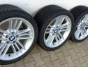 Jante BMW pe 18 cu ET 20 anvelope Bridgestone 7mm F10 E60