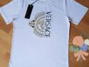 Tricouri Versace import Italia, logo brodat, model unisex