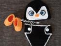 """Costumas """"Micuțul Pinguin"""" pentru ședințe foto"""