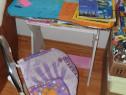 Birou copii, cu scaun