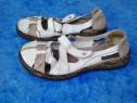 White Rieker - sandale dama mar. 40
