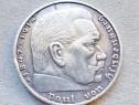 C729-Moneda 2 Reichs Mark Germania nazista zvastica -vultur.