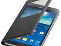 Husa Flip S-View Originala Samsung Galaxy Note 3 Negru