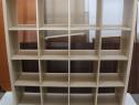 Etajera tip Ikea; Dulap cu rafturi; Corp de biblioteca
