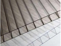 Policarbonat monocameral transparent/ fumuriu 10x2100x6000 m