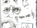 Carte de invatare desen portrete celebritati