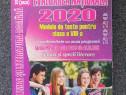 Limba literatura romana evaluarea nationala 2020 dorobantu