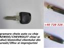 Programare cheie cu chip Daewoo / Chevrolet Matiz Spark