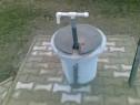 Pompa apa manuala de adancime din pvc pt gradina fantana etc