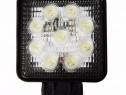Proiector LED auto pt Off Road, vanatoare, pescuit, Utilaje,
