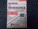 Gazeta de informatica, nr 1/1991