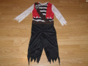 Costum carnaval serbare pirat pentru copii de 3-4 ani