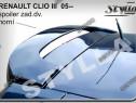Eleron spoiler tuning Renault Clio 3 Mk3 Hatcback 2005-2014