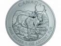Monedă de Argint Wildlife Series Pronghorn Antelope 2013 1oz