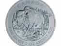 Monedă de Argint Wildlife Series – Bison 2013 1oz