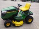 Tractoraș de gradină (mașină de tuns iarbă) John Deere x125