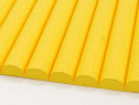 Carpeta/Protectie tip acordeon, mica, groasa/rol/galben 701
