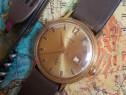 Ceas rusesc de colecție wostok 17 jewels, placat cu aur