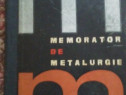 Memorator de metalurgie, comunism, CSH