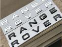Set litere range rover crom sau negru