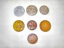 Set Polonia 9 monede vechi majoritatea anii 1920.