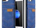 Husa slim piele vegetala Xoomz Jeans, iPHONE 8 PLUS / 7 PLUS
