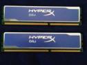 Kit dual Memorie Kingston HyperX blu