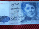 Bancnota Spania 500 pesetas 1979