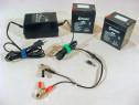Incarcator Charger baterie acumulator cu gel (PB) – 6V / 12V