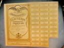 Actiuni vechi Romania-Imprumutul Intern-Titlu 1000 lei 1935.