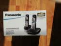 Telefon fix Panasonic cu 2 receptoare detasabile