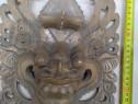 Statueta-masca din lemn masiv Indonesia