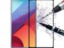 Folie Sticla Securizata Full Size Neagra bLACK - LG G6