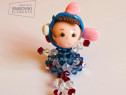 Nicky Swarovski Doll Necklace
