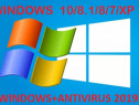 Instalez Windows 10/8/8.1/7/XP+Antivirus 2020