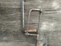 2 unelte vechi fierastrau si mezdrea