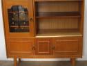 Comoda TV vintage cu usi; Bufet; Dulap cu rafturi