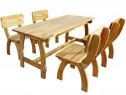 Set mobilier de exterior, 5 piese 273756