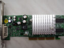 Placa Video AGP Nvidia GeForce4 64 Mb DVI